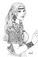 Skyrim: Nordka by Adelaiy