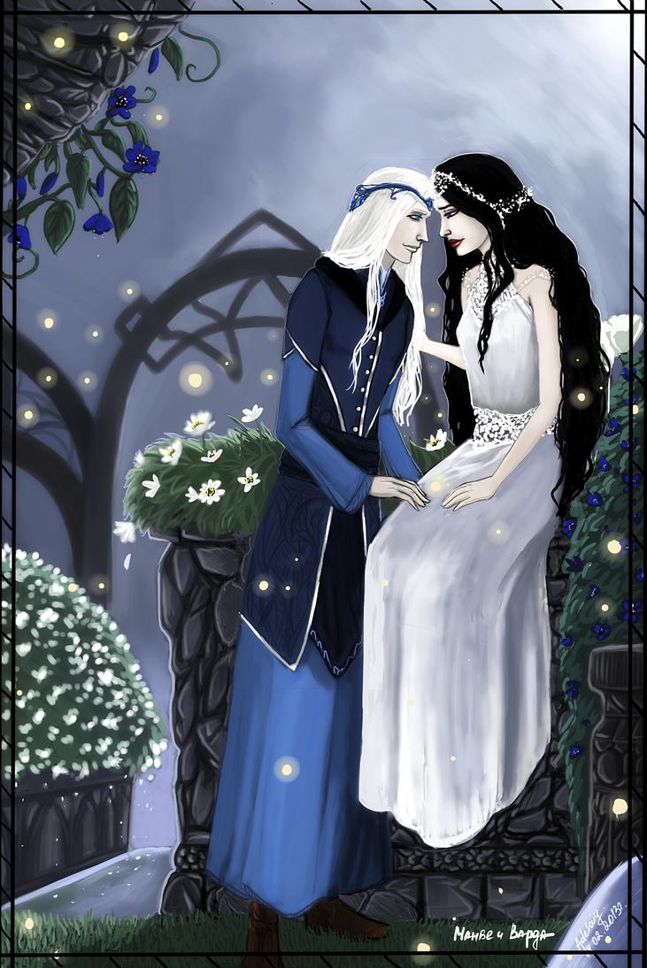 Manwe and Varda by Adelaiy on DeviantArt Manwe
