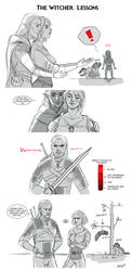 The Witcher: Lessons by Adelaiy