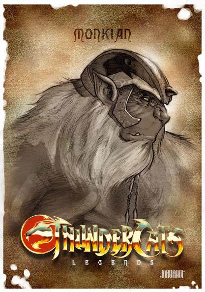 Monkian with logo by beastboyjoe