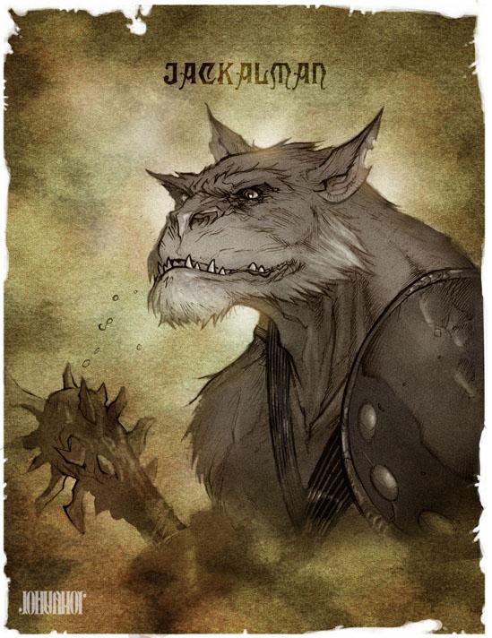 Thundercats Legends_Jackalman by beastboyjoe