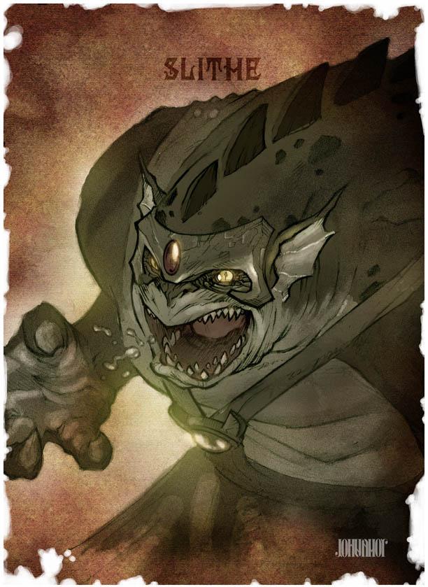 Thundercats Legends - Slithe by beastboyjoe