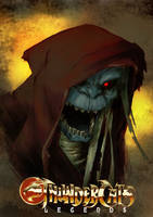 Thundercats Legends - Mumm-Ra by beastboyjoe