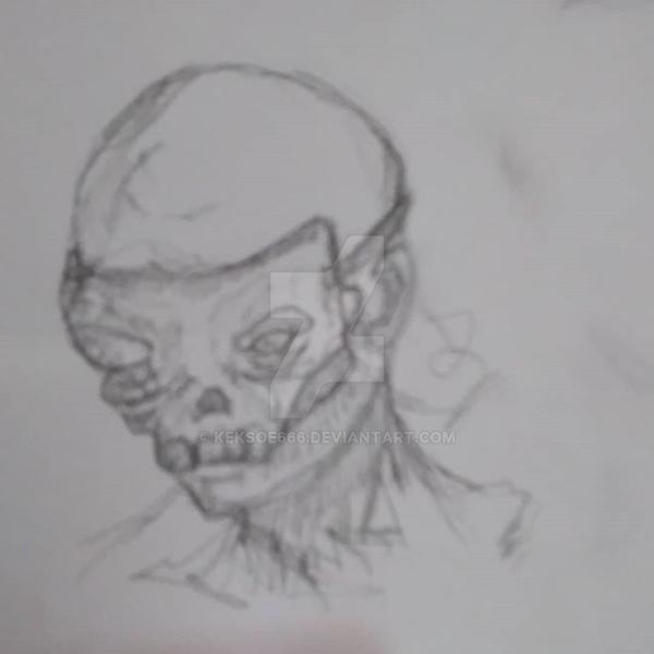 Skull-mask by Keksoe666