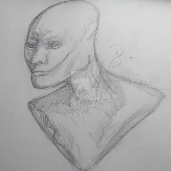 Alien Bust by Keksoe666