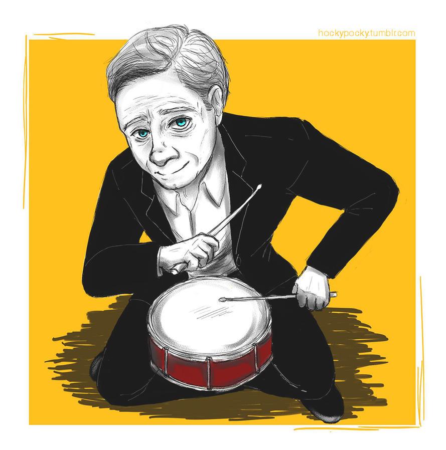Martin Freeman - Drum by Hockypocky