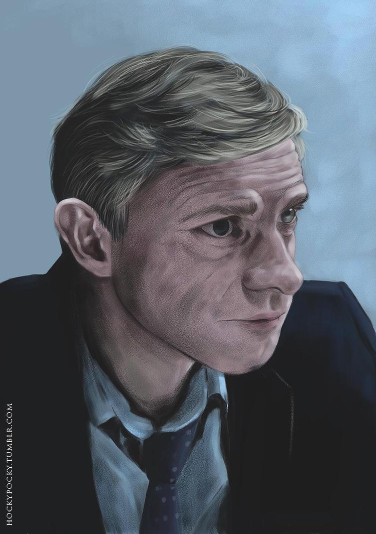 Martin Freeman  - Portrait by Hockypocky