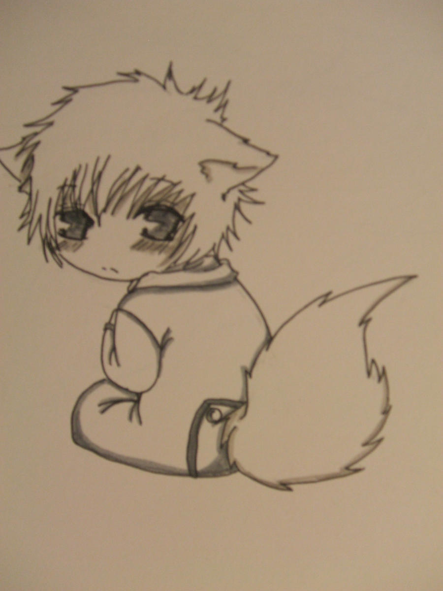 Pictures Of Anime Baby Wolf Drawing Kidskunst Info