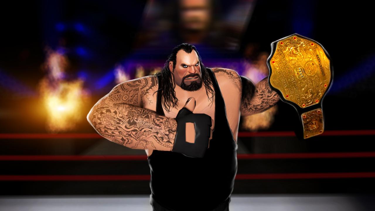 Undertaker the HEAVYweight Champion by DizNot