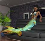Spontaneous Mermaid Transformation 8
