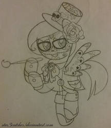 Willow Streaks Sketch: Halloween by star3catcher