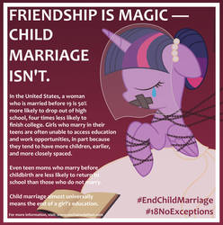 Child Marriage USA PSA - Twilight Sparkle