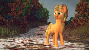 Applejack Fall stroll