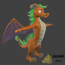 Shunaka dragon Wip