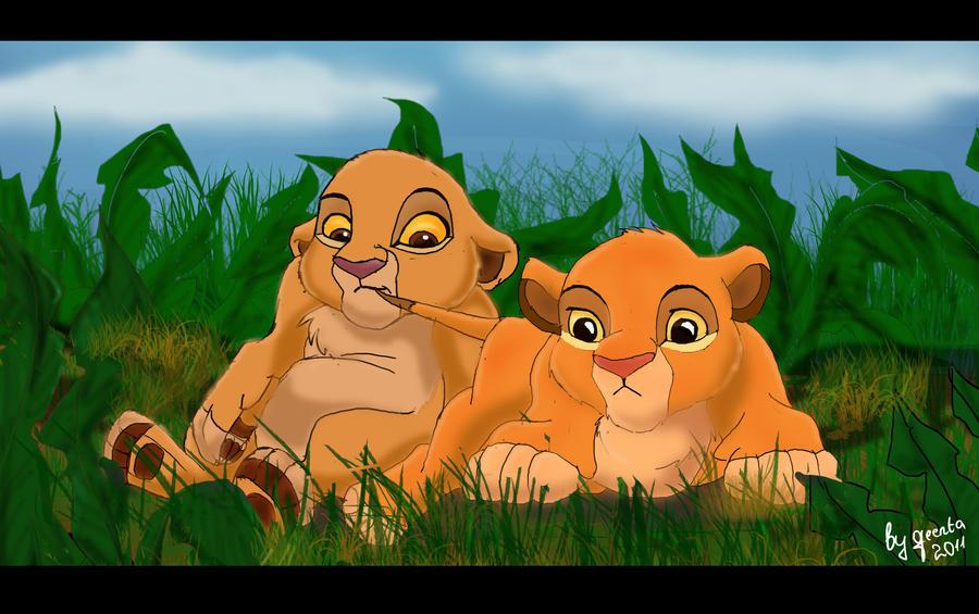 The lion king kopa and kiara - photo#2