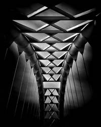 Humber River Pedestrian Bridge Toronto Canada by thelearningcurve-da