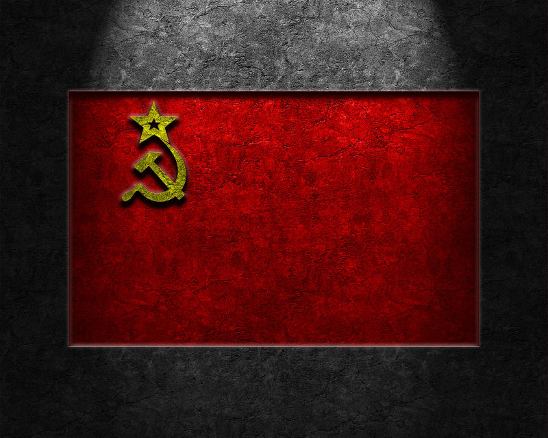 USSR Flag Stone Texture by thelearningcurve-da