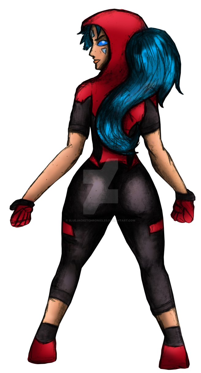 OC Red Siege (Back View) by BlueJacketChronicles