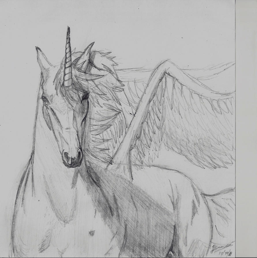 Unicorn Pegasus by LEO-GENDARY on DeviantArt
