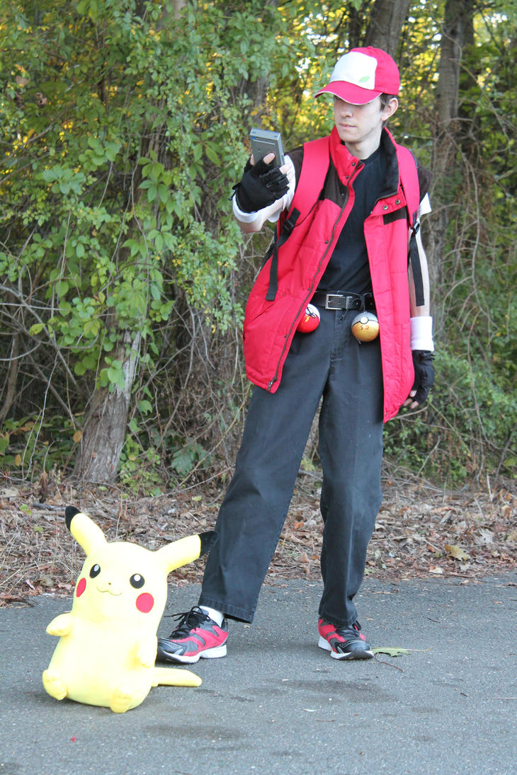 Pokemon Trainer Cosplay 2 by Ray7979