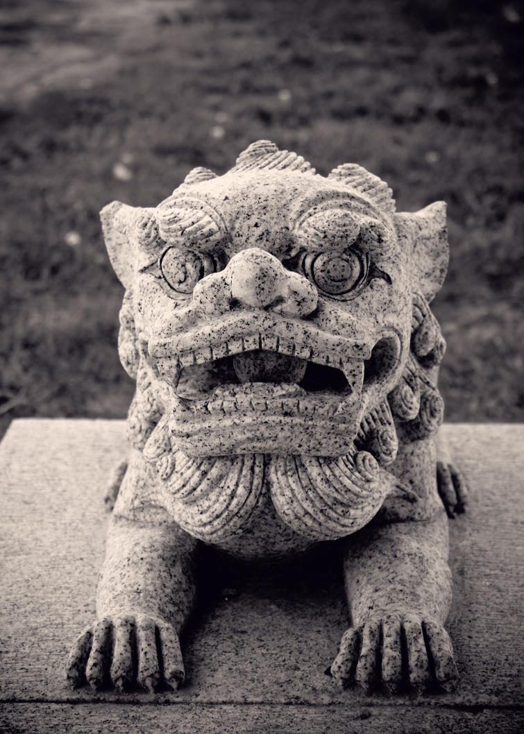 little chinese lion by kumikolein