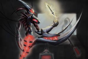 League of Legends DigiArt Contest Entry (Nocturne) by C-Kyuze
