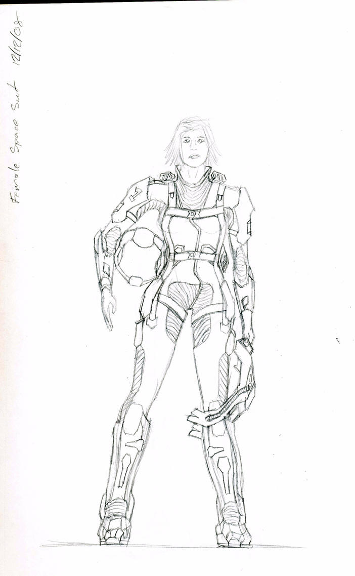 Female space suit by humanstraightedge on deviantart for Female space suit