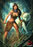 Pocahontas steampunk version