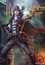Locksley_Steampunk Robin Hood by AmosRachman