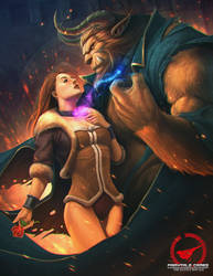 Wedlock_Beauty and the Beast by AmosRachman