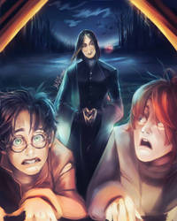 Severus Snape by Mad--Fantasy