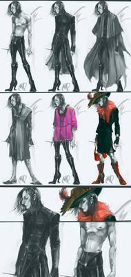 Severus Snape outfits design