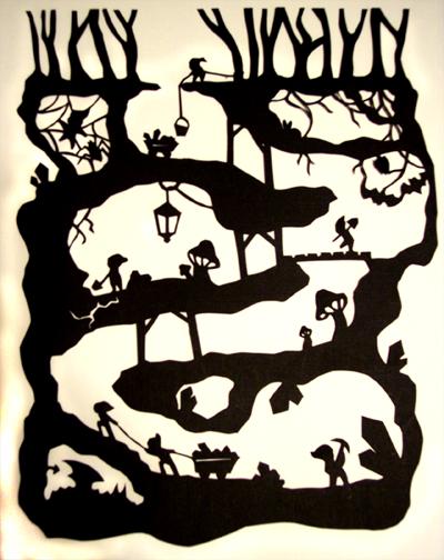 Paper Tales: The 7 Dwarves by Illeander