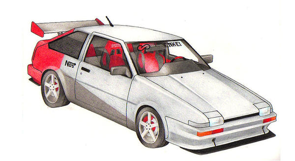 1986 Corolla GTS by iq32
