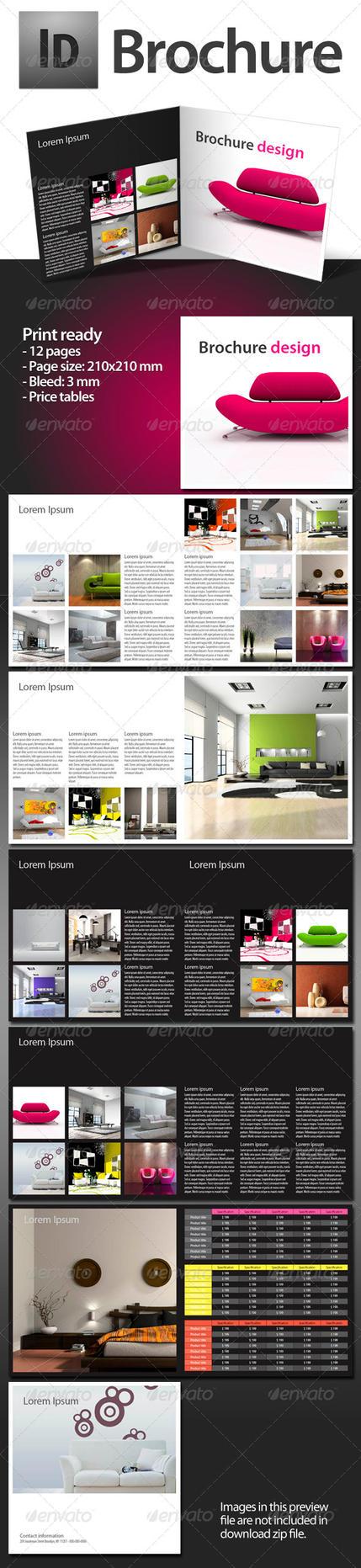 Brochure indesign template by bydj on deviantart for Indesign portfolio template free