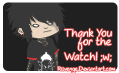 Thanks for the watch sign by RiivengeArt