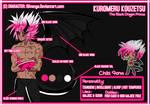 Kuromeru Character Sheet