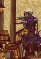 Dungeons and Dragons: Dagon Malek by x-Riivenge