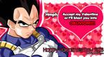Vegeta Valentine 2016