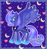 Princess Luna by x-Riivenge