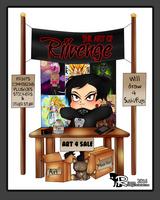 Chibi Artist Table [ID] by x-Riivenge