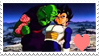 F2U Piccolo x Vegeta Stamp