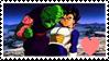 F2U Piccolo x Vegeta Stamp by x-Riivenge