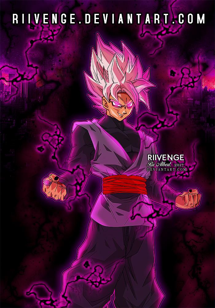 SSJ Rose - Goku Black by x-Riivenge