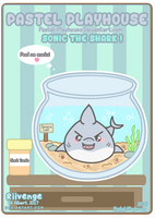 Playhouse Pal OC #2 - Sonic the Shark by x-Riivenge