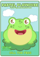 Playhouse Pal OC #3 - Dill the Frog by x-Riivenge