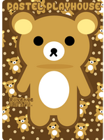 Rilakkuma - Relax Bear by x-Riivenge