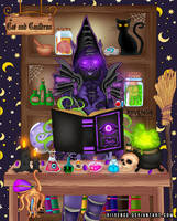 Void Witch Erebus Blackheart by x-Riivenge