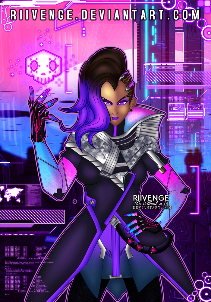 Sombra - Boop! by x-Riivenge