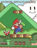 Super Mario Bros. by x-Riivenge